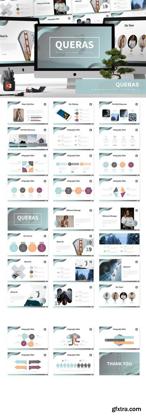 Queras - Powerpoint, Keynote, Google Sliders Templates