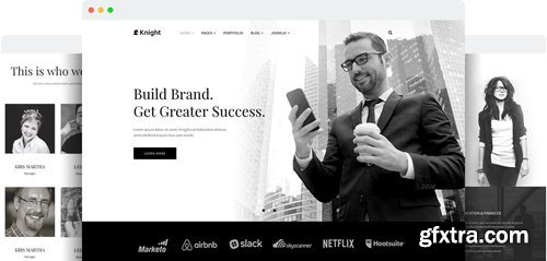 JoomShaper - Knight v1.8 - Responsive Joomla Template for Company and Agency Sites