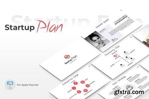 Startup Plan Keynote Template