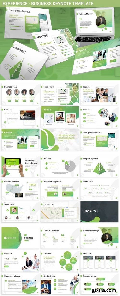 Experience - Business Keynote Template
