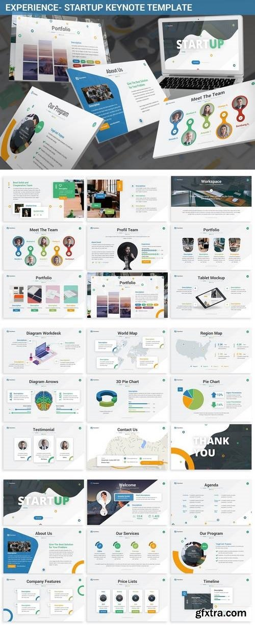 Experience - Startup Keynote Template