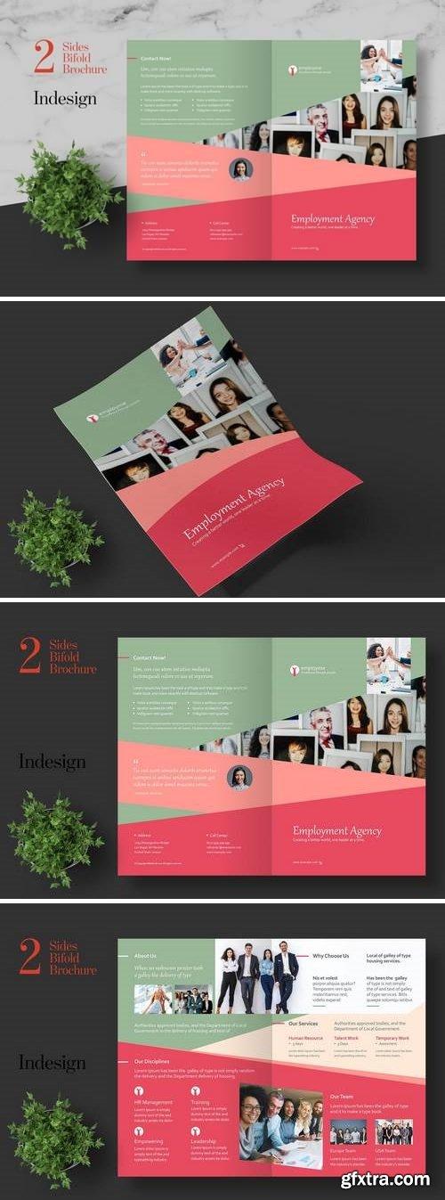 Clean HR Bifold Brochure
