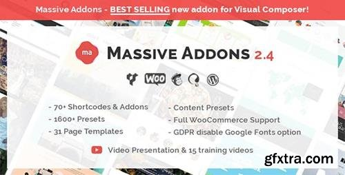CodeCanyon - Massive Addons for WPBakery Page Builder v2.4.4 - 14429839