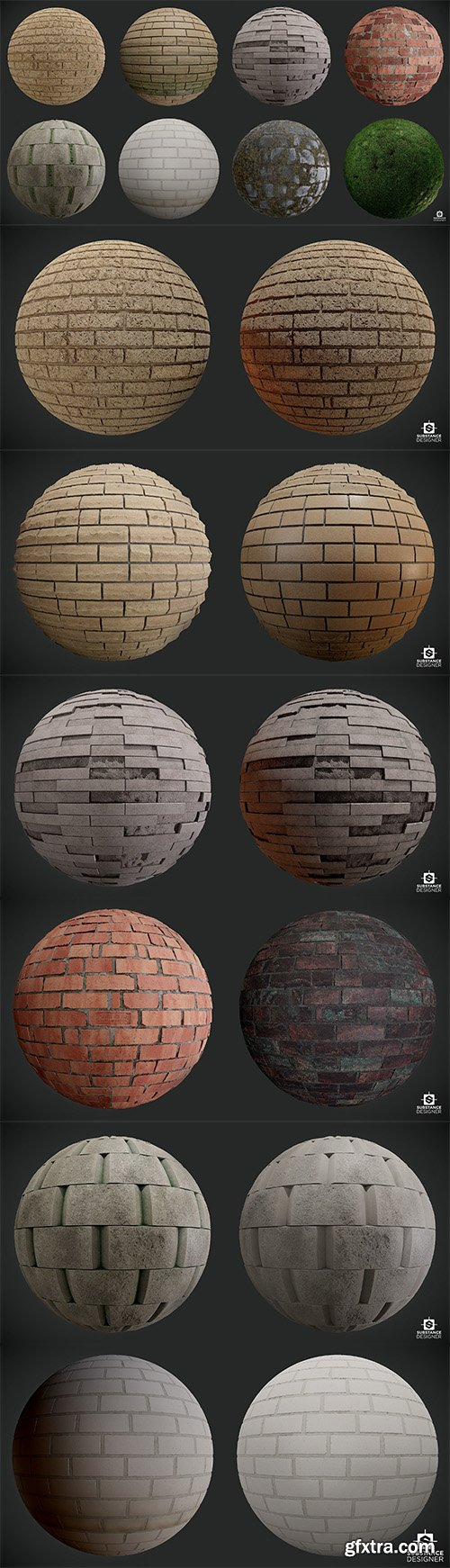 Cgtrader - Wall Pack Vol 1 Texture