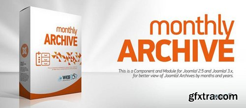 Monthly Archive v4.4.6 - Joomla Extension