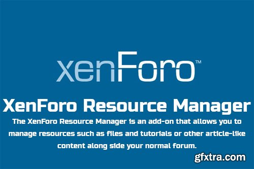 XenForo Resource Manager v2.1.1 - XenForo 2 Add-On