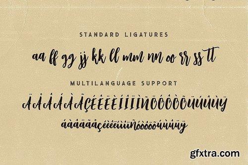 CM - Wildlove Script Font 3607852
