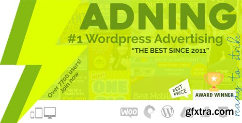 CodeCanyon - Adning Advertising v1.3.6 - Professional, All In One Ad Manager for Wordpress - 269693 - NULLED