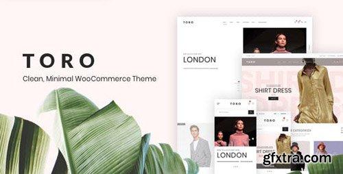 ThemeForest - Toro v1.0.2 - Clean, Minimal WooCommerce Theme - 23229072