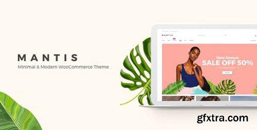 ThemeForest - Mantis v1.1.0 - Minimal & Modern WooCommerce Theme - 22115715