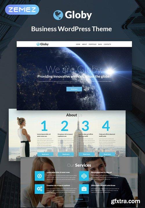 Globy v1.0.2 - Your Business WordPress Theme - TM 51253