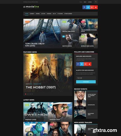 MovieLine v1.0.0 - Online Cinema WordPress Theme - TM 51822