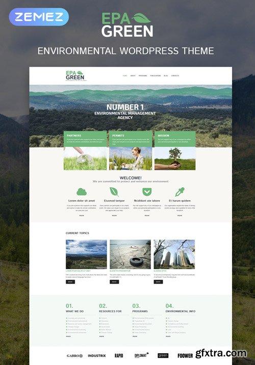 Epagreen v1.0.0 - Environmental Responsive WordPress Theme - TM 52293