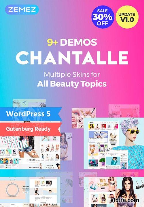 Chantalle v1.0.0 - Multipurpose Woman Fashion Elementor WordPress Theme - TM 52658