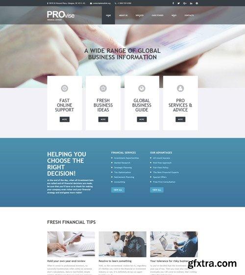 Provise v1.0.0 - Financial Consultancy WordPress Theme - TM 52702