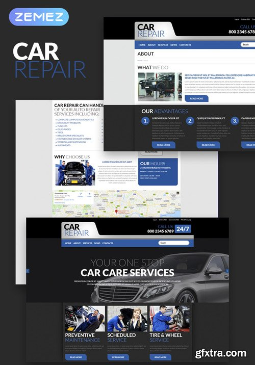Carrepair v1.0.0 - Cars WordPress Theme - TM 52721