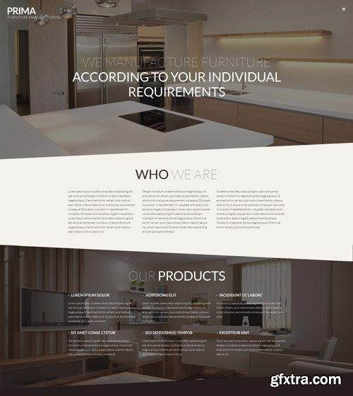 Prima v1.0.0 - Interior Furniture WordPress Theme - TM 53145