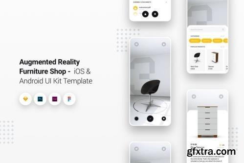 Augmented Reality Furniture Shop iOS & Android App