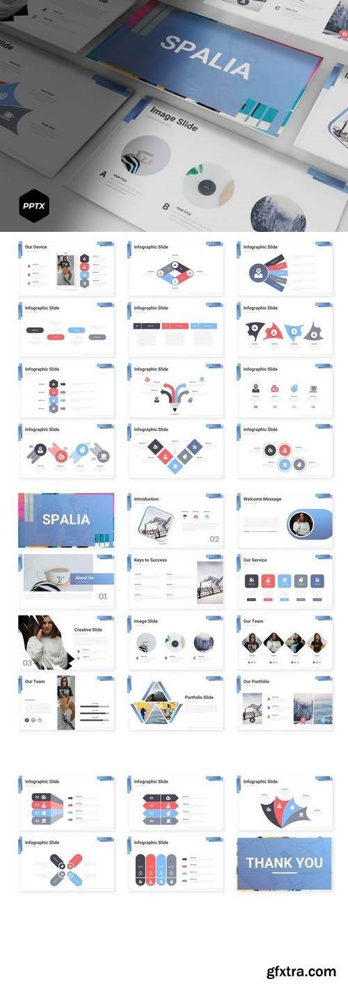 Spalia - Powerpoint, Keynote, Google Sliders Templates