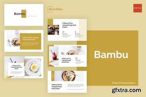 Bambu - Powerpoint, Keynote, Google Sliders Templates