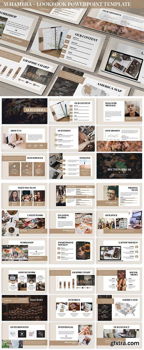 Alhambra - Lookbook Powerpoint Template