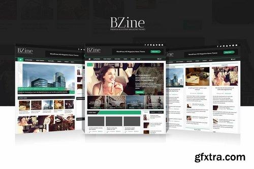 Bzine - News Portal and Magazine PSD Template