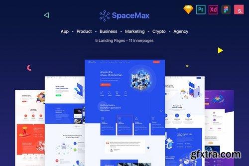 SpaceMax - Multipurpose Landing page
