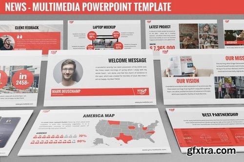 News - Multimedia Powerpoint Template