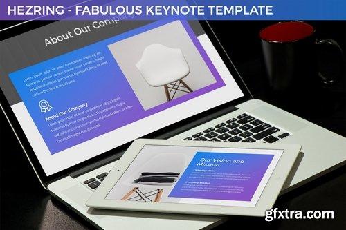 Hezring - Fabulous Keynote Template