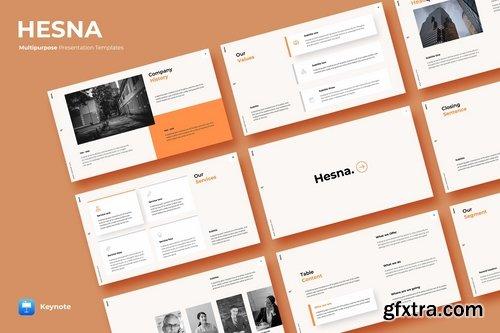 Hesna - Keynote Template