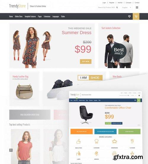 Joomla-Monster - JM Trendy J2Store v1.06 - Shopping Cart Joomla Template for J2Store