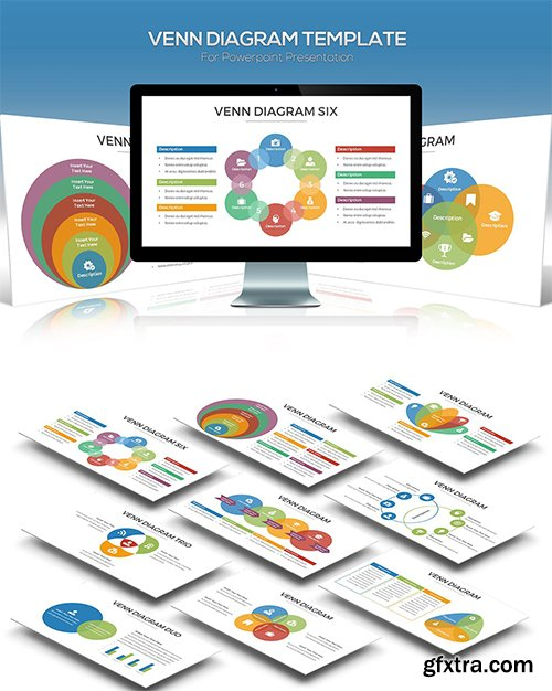 Venn Diagram for Powerpoint Presentation