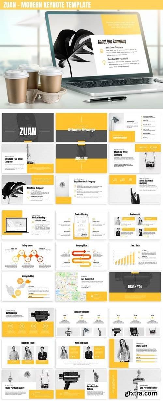 Zuan - Modern Keynote Template