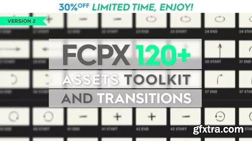 Videohive - FCPX 120+ Toolkit and Transitions V.2 - 21433230