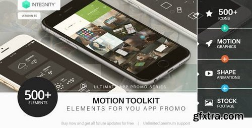 Videohive - The Ultimate App Promo - Motion Toolkit V.1.5 - 11582301