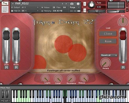 HandHeldSound FlyingHand Percussion v1.5 KONTAKT-AwZ