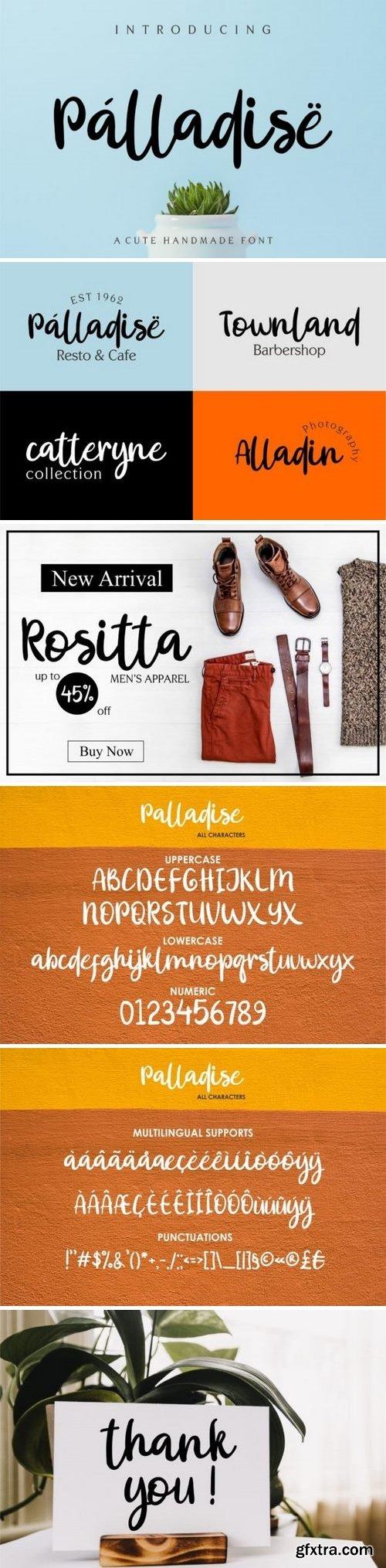 Fontbundles - Palladise Cute Font 234851