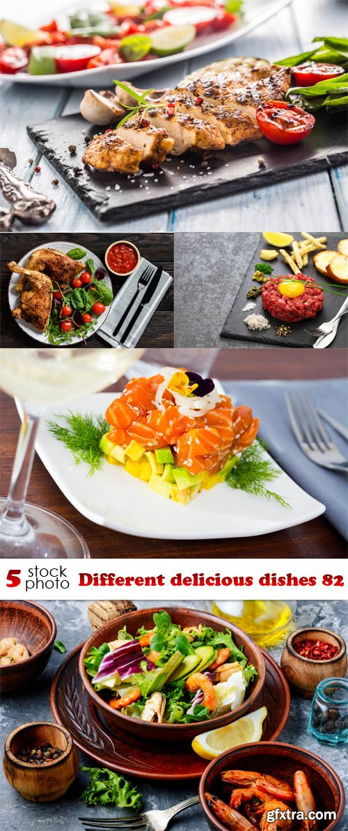 Photos - Different delicious dishes 82