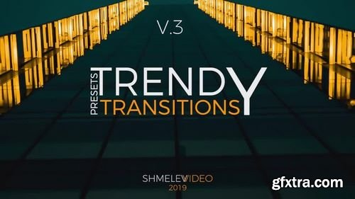 MotionArray Trendy Transitions Presets V.3 - After Effects Presets 200401