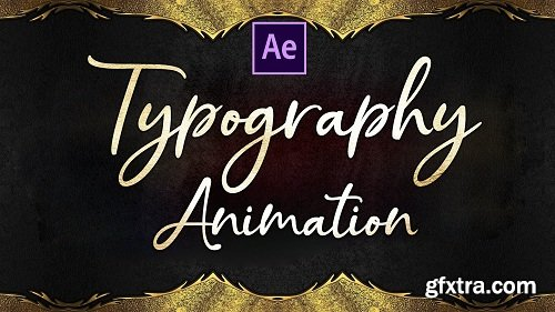 Typography Animation and Motion Graphics in After Effects | Beginner to Advanced