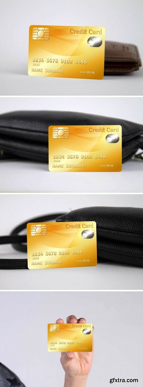Credit Card Mock Up Vol 02