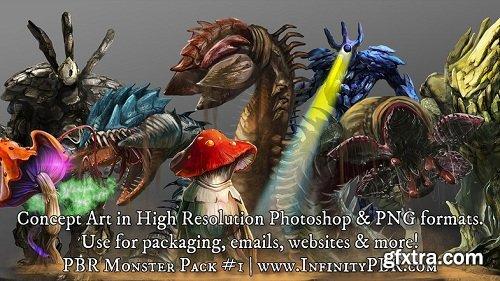PBR Monster Pack #1
