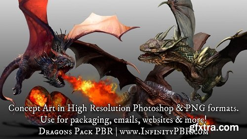 Dragons Pack PBR