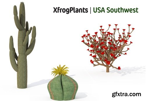 XfrogPlants - USA SOUTHWEST
