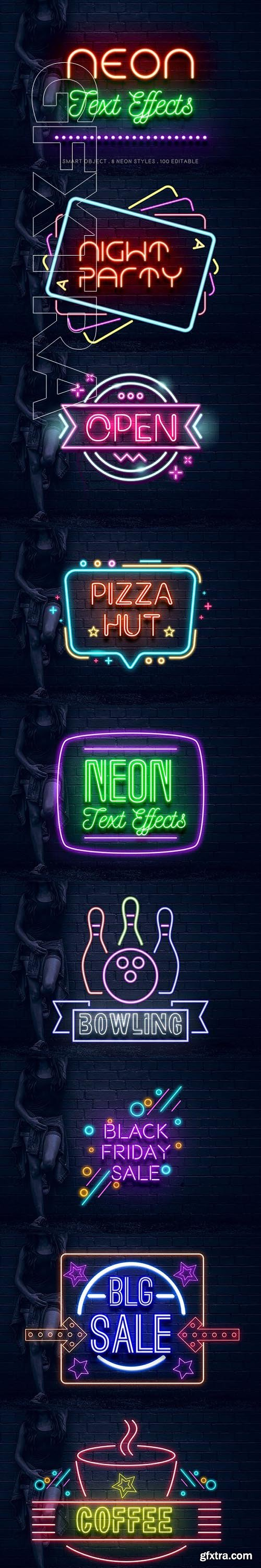 GraphicRiver - Neon Text Effects 23479740