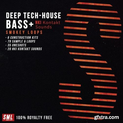 Smokey Loops Deep Tech House Bass WAV KONTAKT