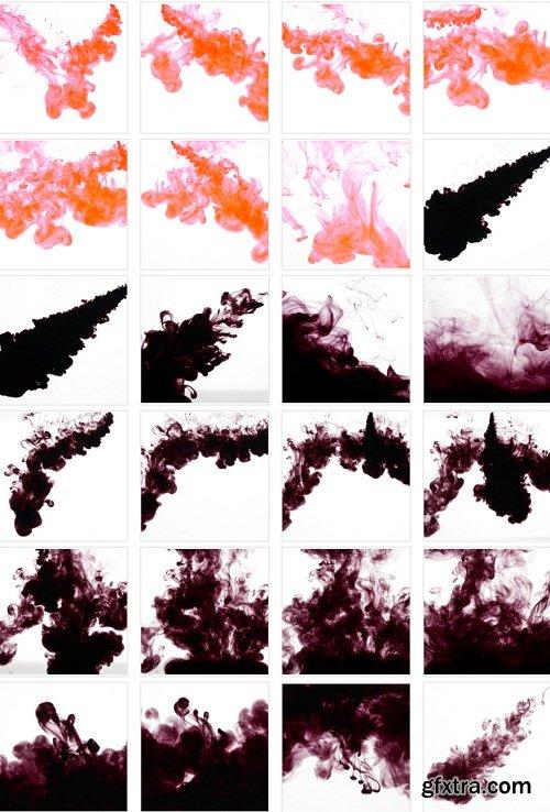 RAWexchange - Liquid Ink Splashes