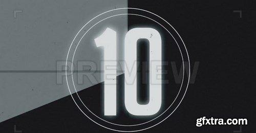 Retro Tape Countdown Motion Graphics