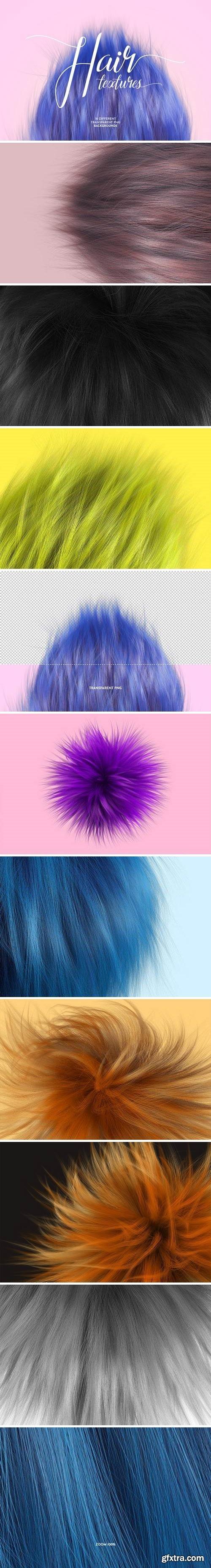 Soft Hair Textures