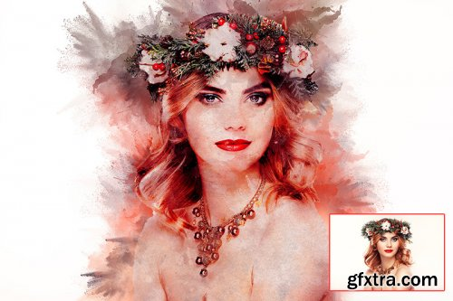 Water color Art Photoshop Actions